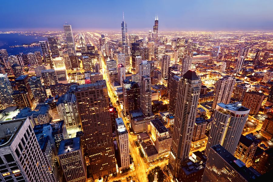 Job Seekers How To Follow Up On An Application Spark Hire Chicago City Skyline Dream City