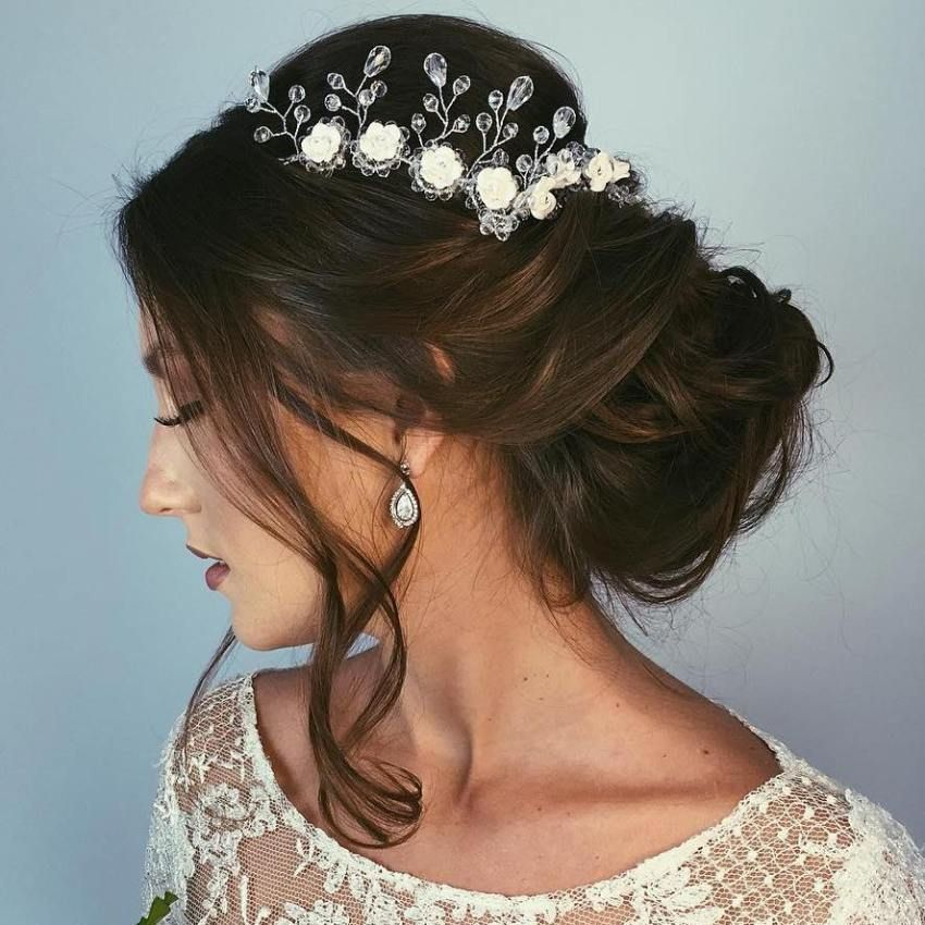 40 Wedding Hairstyles for Long Hair (With images