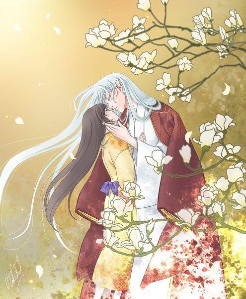 殺りん 春をのぞむsesshomaru And Rin Otp Sesshomaru And Rin