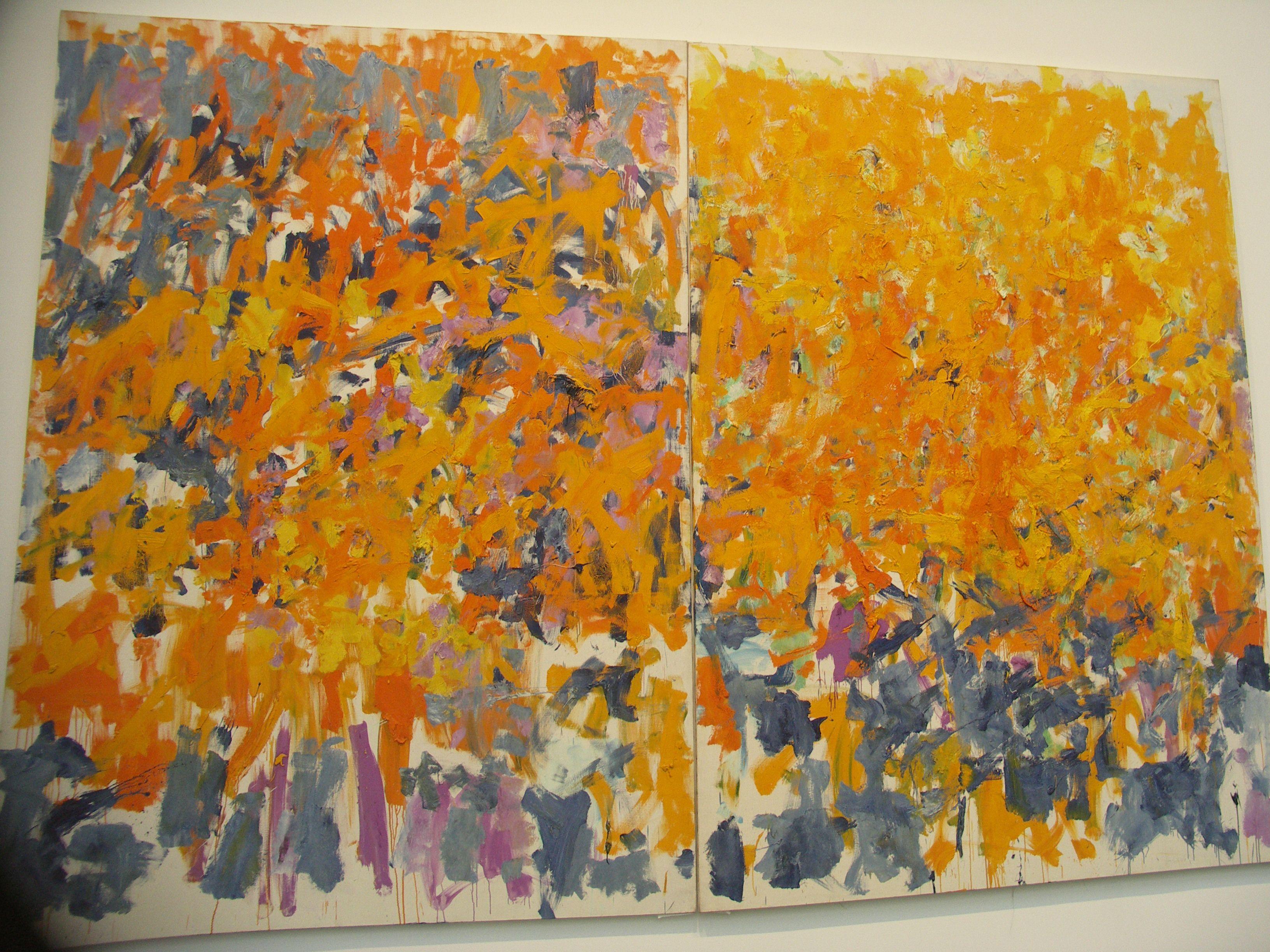 paint process joan mitchell paint paint paint pinterest