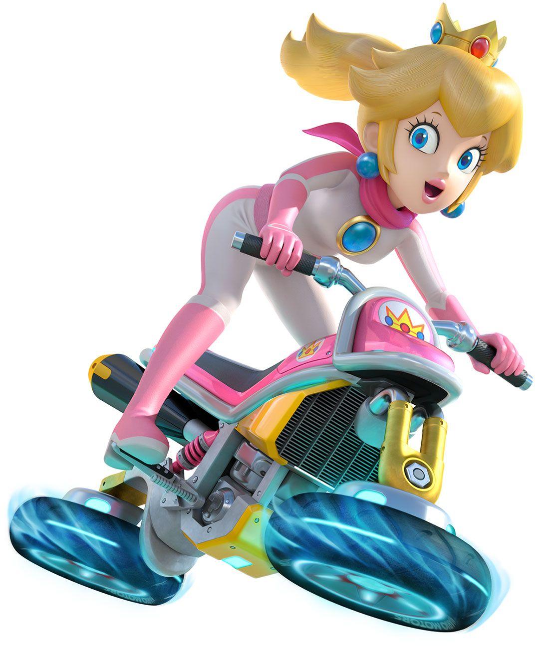 Peach Mario Kart 8 Art References & Inspirations