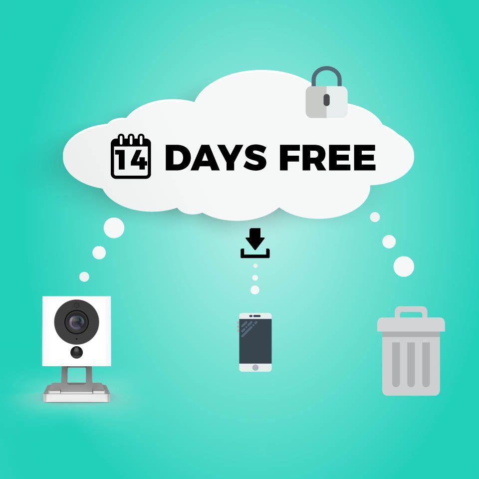 V2 Smart Home Home Camera Free Cloud Storage