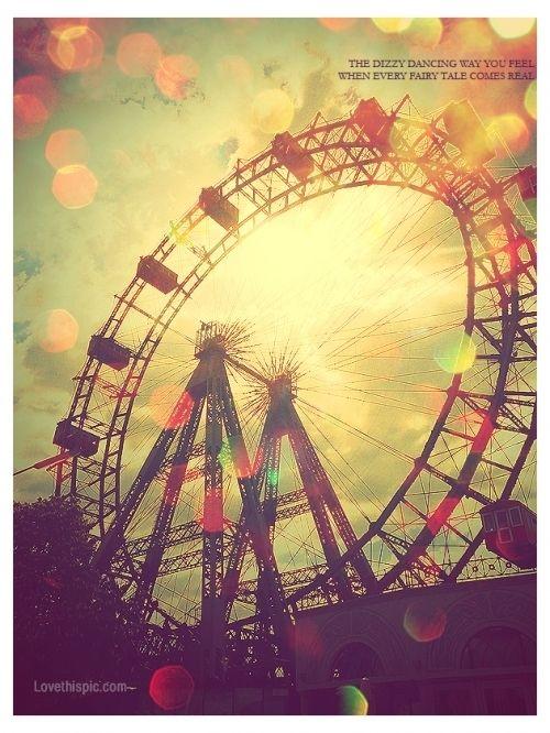 Vintage ferris wheel | joy! | Ferris wheel, Carnival rides ...