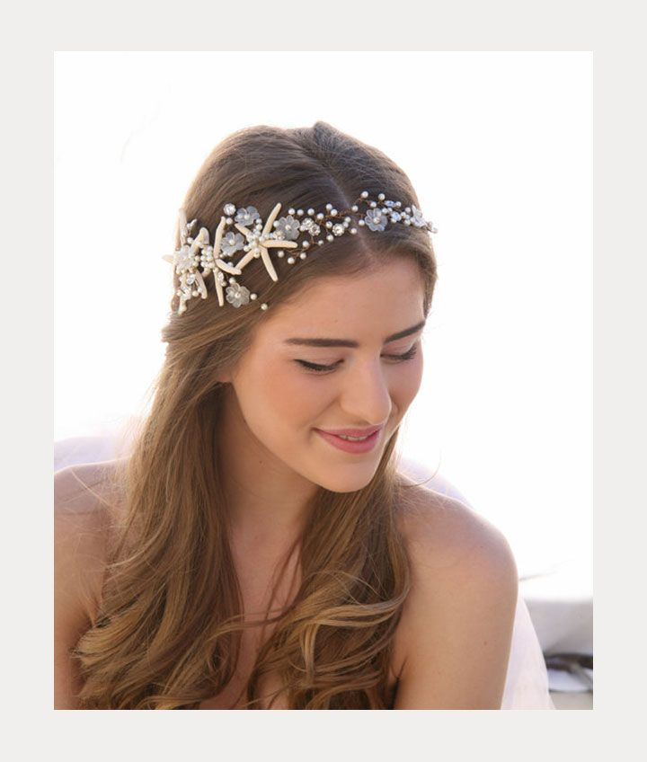 Sweet Beach Wedding Hair Accessories By Be Something New Mon Cheri Bridals