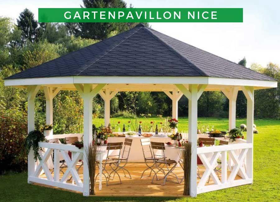 Gartenpavillion Nice 4 Garten Pavillon Gartenpavillion Holzpavillon
