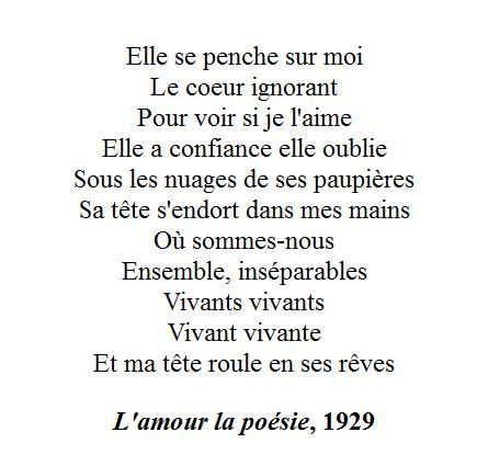 Paul éluard Lamour La Poésie Citation Poeme Et