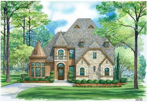 Castle Design With Four Bedrooms English Country House Plans Country Style House Plans Monster House Plans