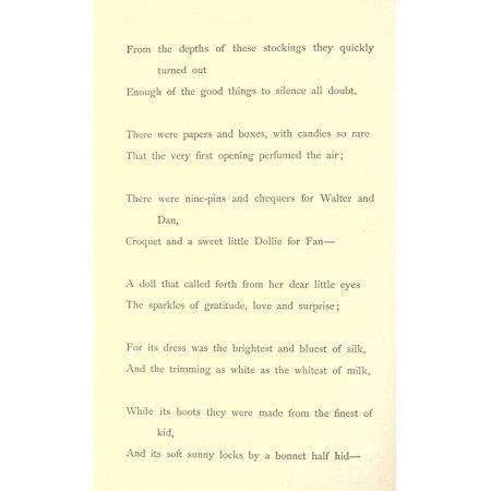 Outcast  other Poems 1872 Christmas Day 2 Canvas Art - JW Watson