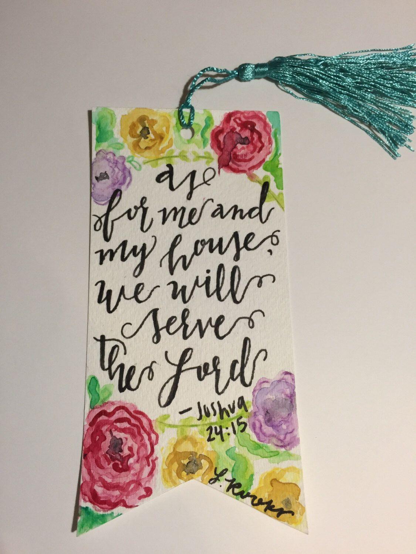 Handmade Bible Verse Bookmark By Lyndsierookscreation On Etsy Https