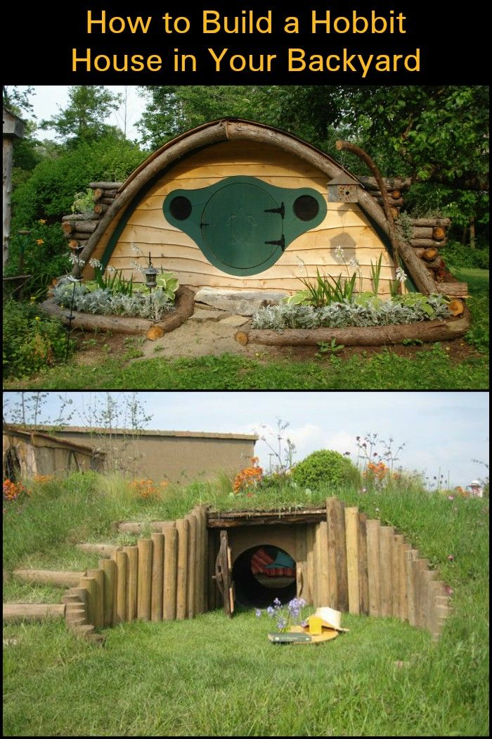 How To Build A Hobbit House In Your Backyard Hobbit Houses Diy Hobbit House Backyard