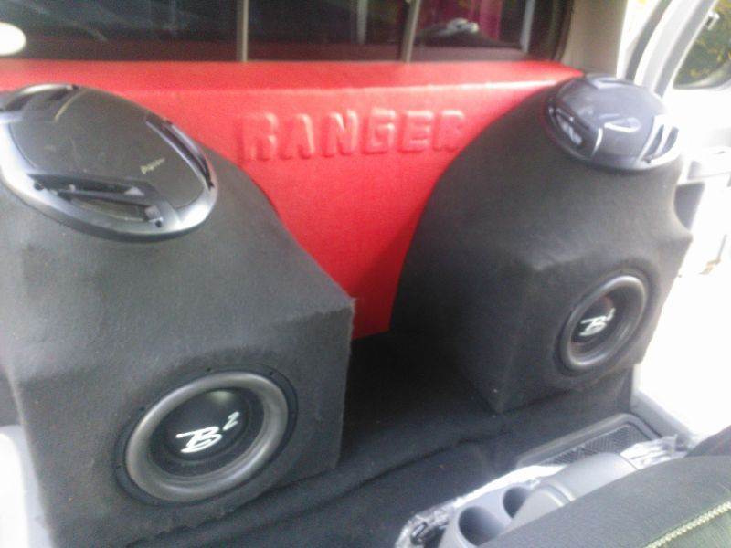 Custom B2 Audio And Pioneer System For A Ford Ranger Car Asound Rhpinterestcouk: Ford Ranger Custom Audio System At Gmaili.net