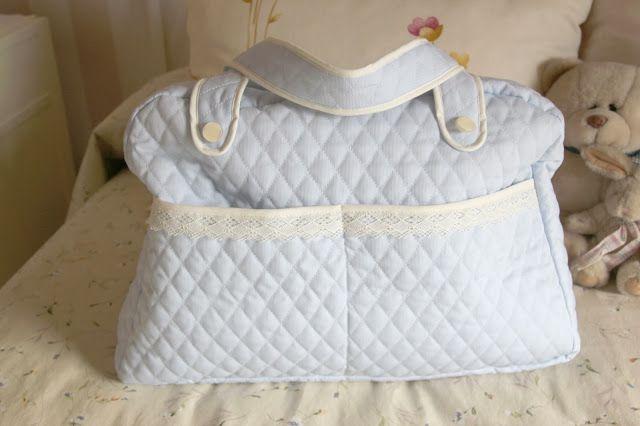 DIY Bebé: Cómo hacer una bolsa para pañales | Bolsos para