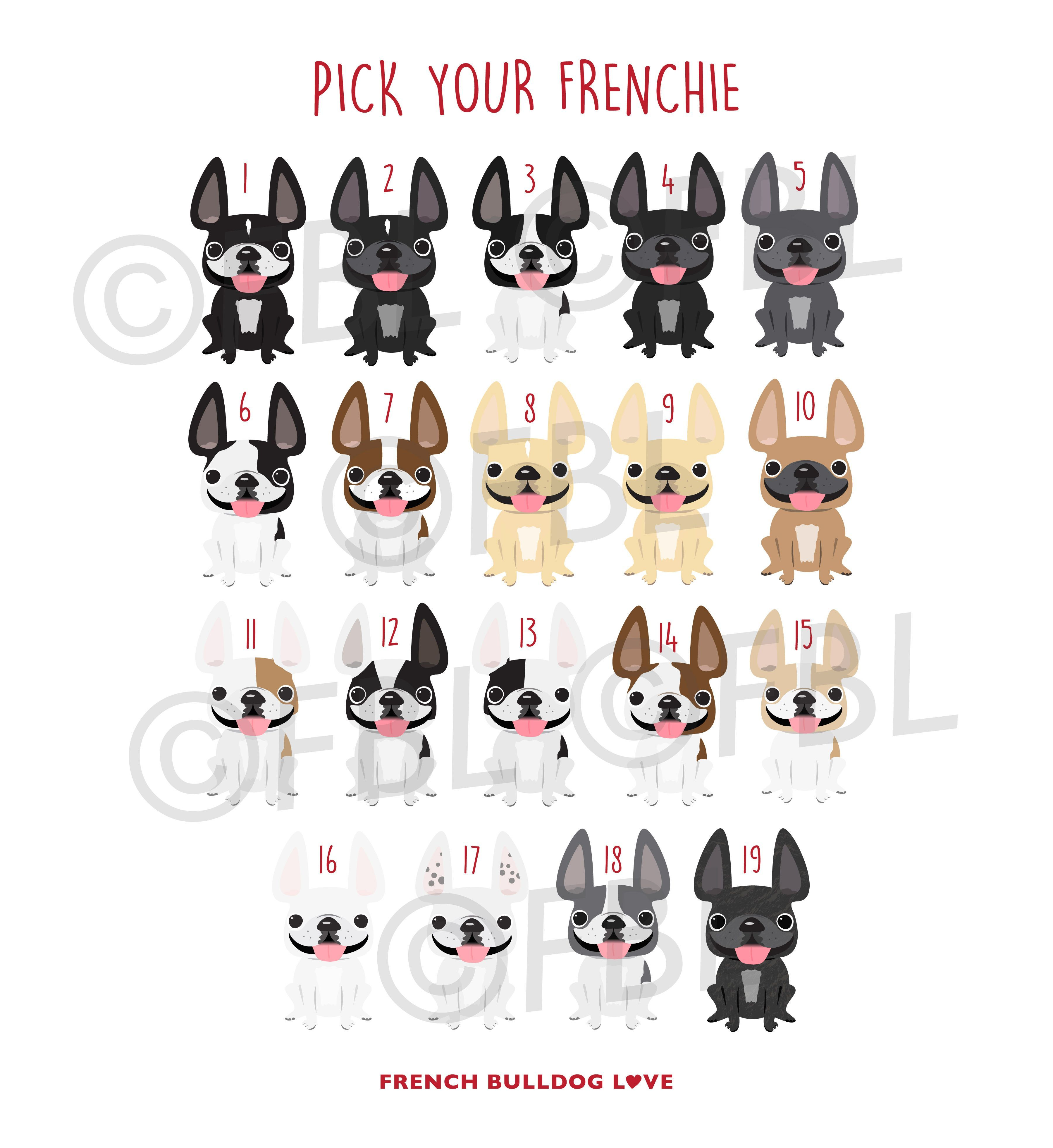 1 Dad French Bulldog Card Frenchie Love A Pinterest French