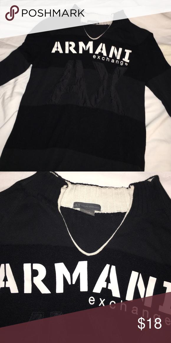 Armani exchange sweater Armani exchange woman sweater!! Good condition!! Soft Armani Exchange Sweaters Cardigans