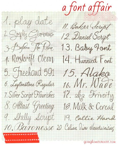96b5d1827 fun fonts - Click image to find more Design Pinterest pins