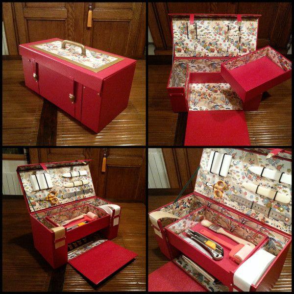 Boite A Outils De Cartonnage Le Book De Sistajak Cartonnage Cartonnage Boite Rangement Carton