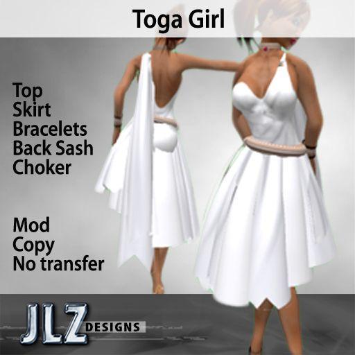 Make a sexy toga