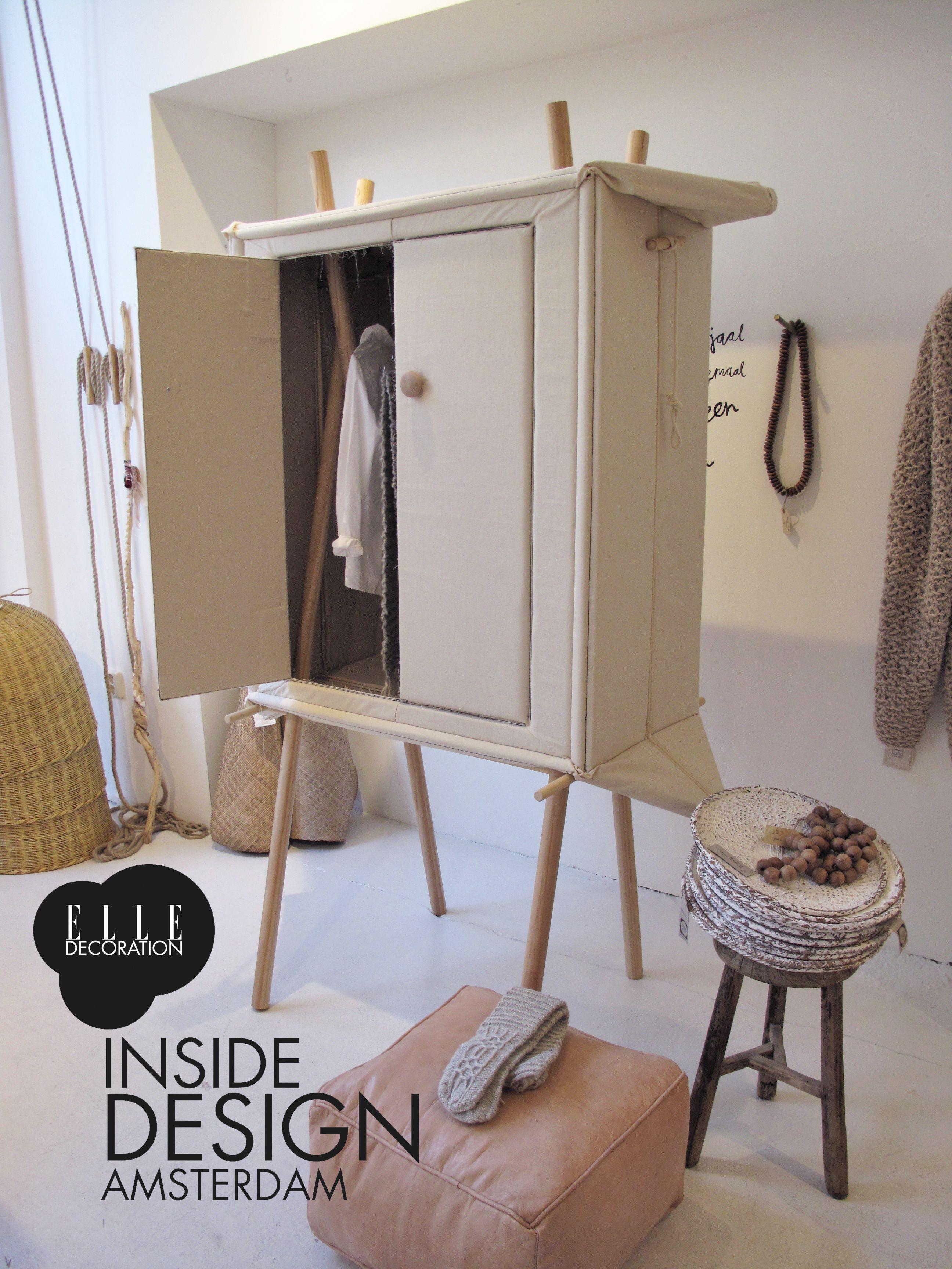 pop-up linen cabinet at sukha amsterdam during inside design