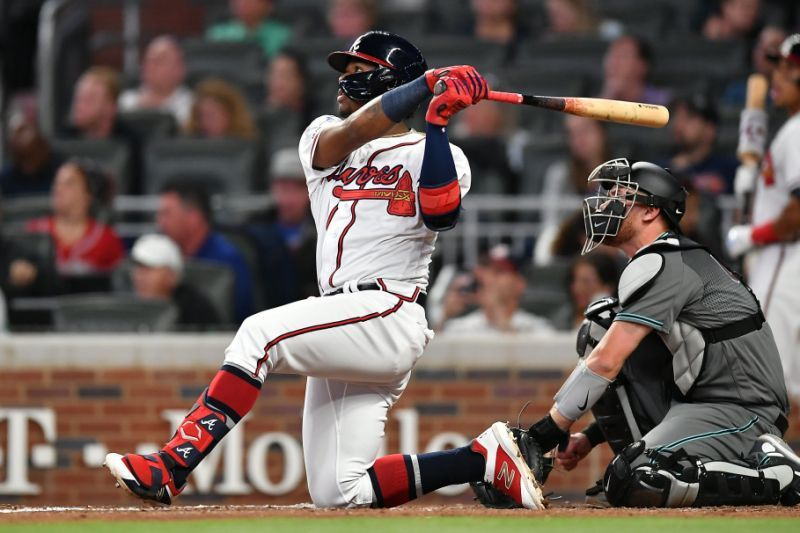Ronald Acuña Jr. steals the show with hilarious slide