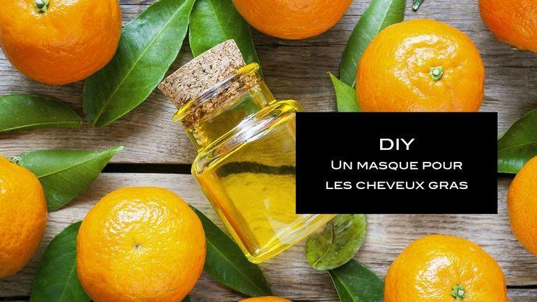 Diy Beaute Un Masque A La Mandarine Pour Les Cheveux Gras Cheveux Gras Diy Beaute Produit Beaute Bio