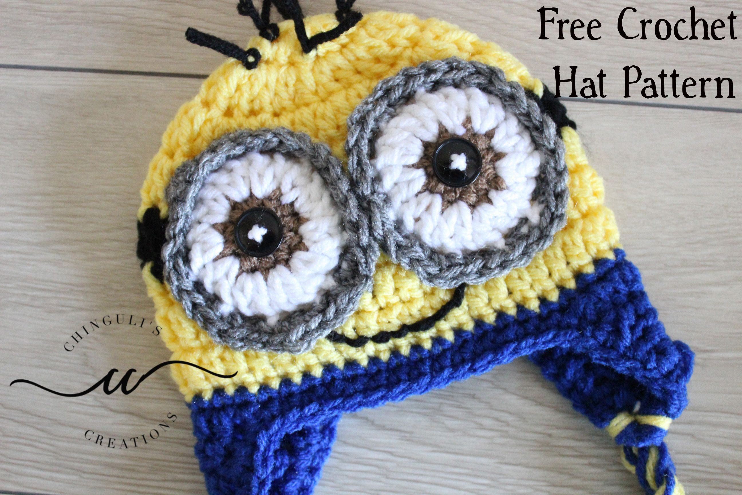 Inspired by Minions – Crochet Hat Pattern | Chinguli\'s Creations ...