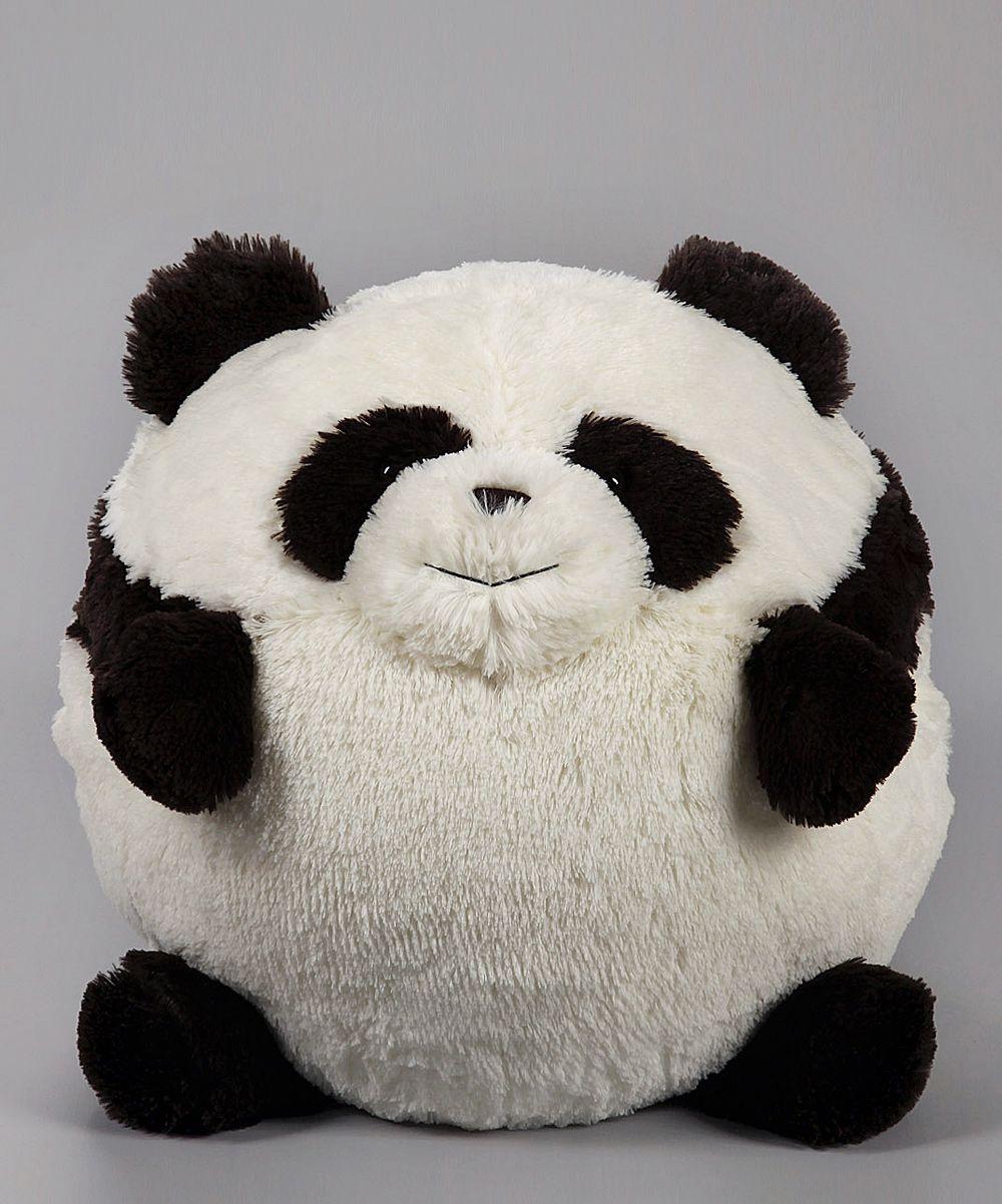 Panda Plush Ball Laugh Smile Enjoy Panda Panda