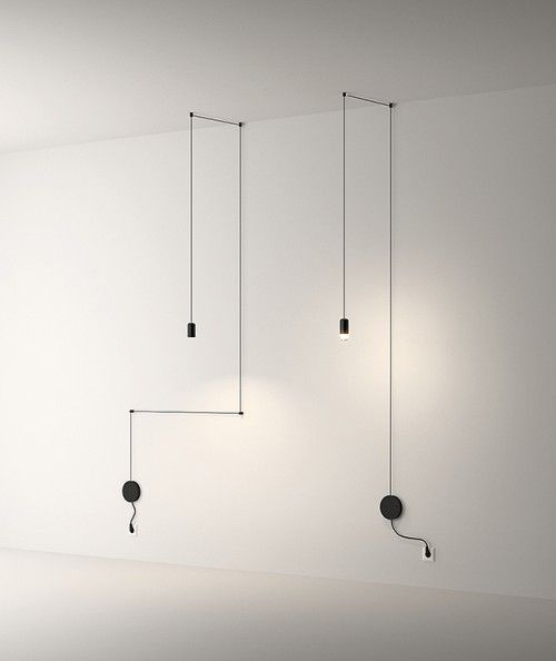 Vibia Wireflow 0347 And 0348 Industrial Style Lamps Lamp Vibia Wireflow