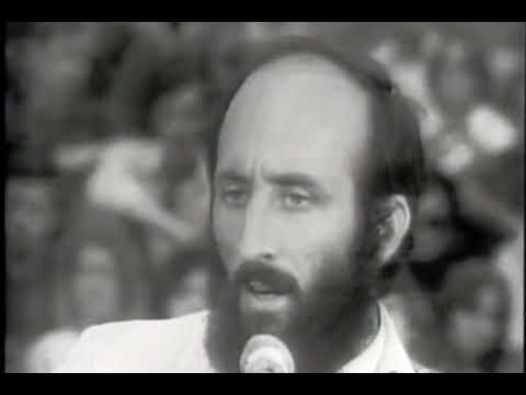 Paul Stookey From Peter And Mary Singing The Wedding Song At