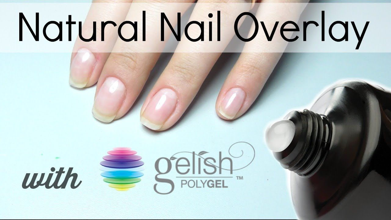 Polygel Overlay On Natural Nails Youtube Natural Nails Overlay Nails Gel Overlay Nails