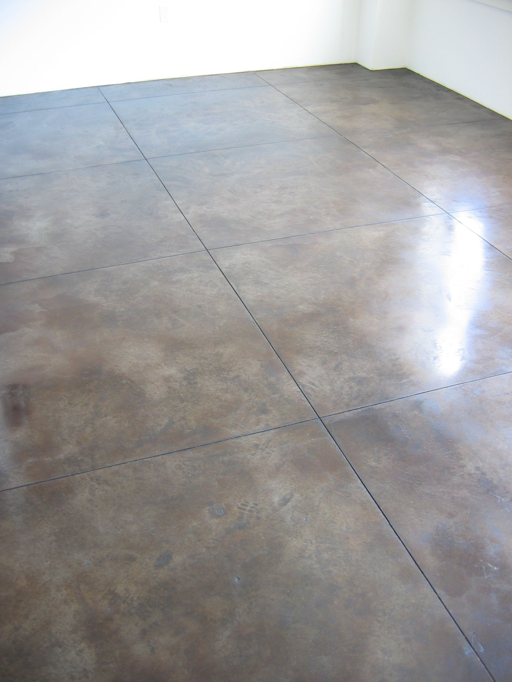 concrete flooring Polished Concrete Floor for University