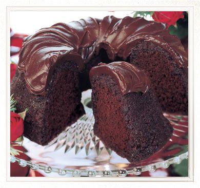 Buy Triple Chocolate Bundt Cake Online or Mail Order Gourmet Cakes