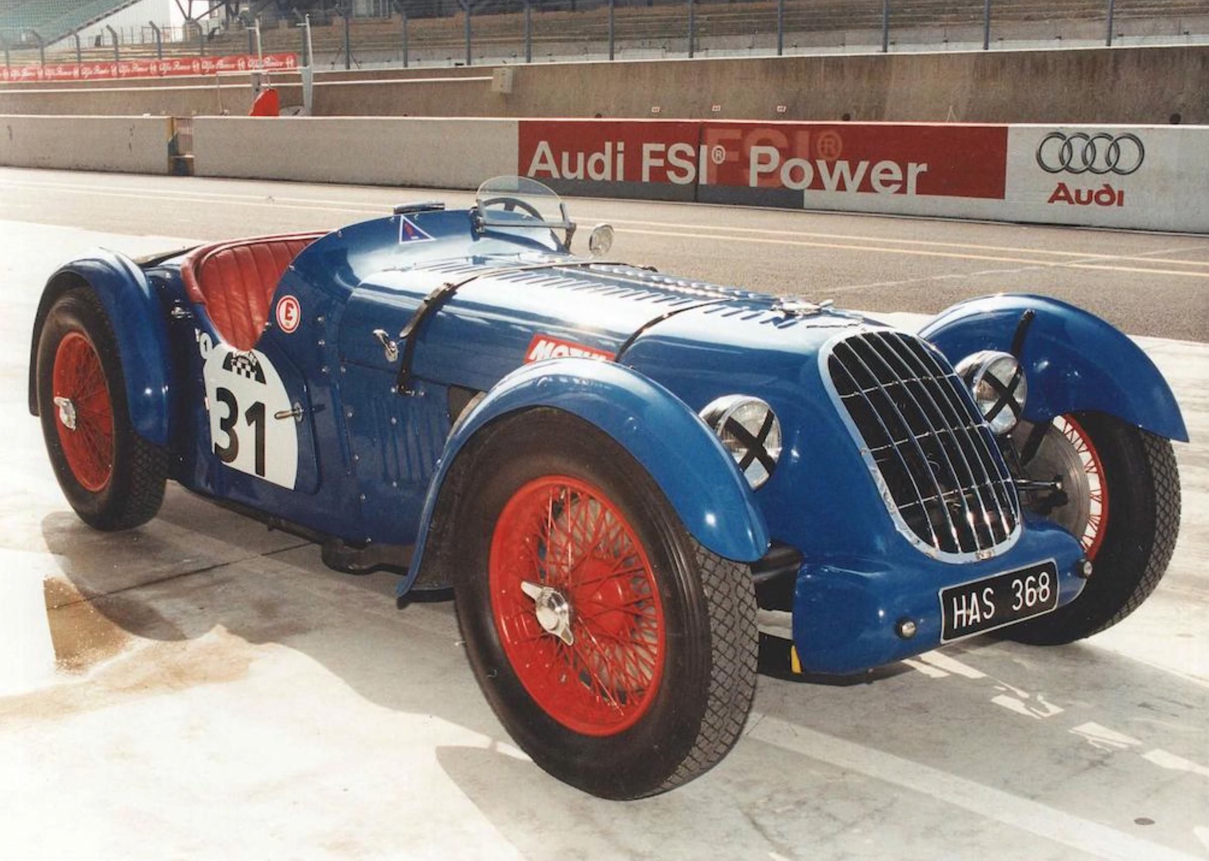Rare Supercharged British Racer 1936 2 Litre Alta Sports Car