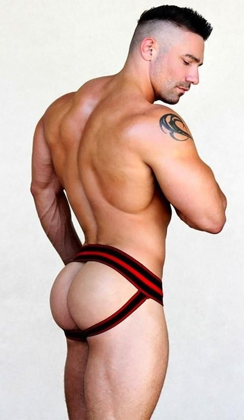 Hot muscle men jockstrap