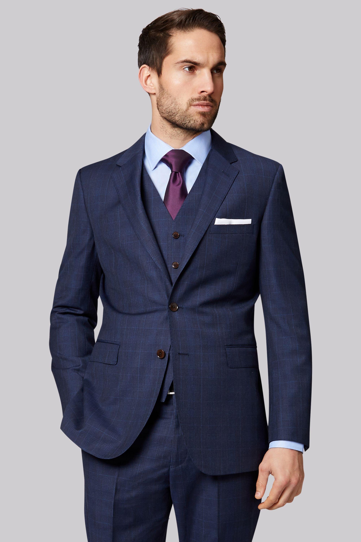 611c407a41d Ermenegildo Zegna Cloth Regular Fit Navy Check Jacket