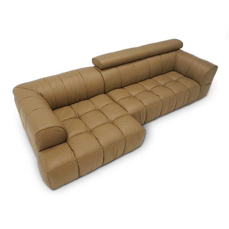top cow genuine real leather sofa sectional living room sofa corner