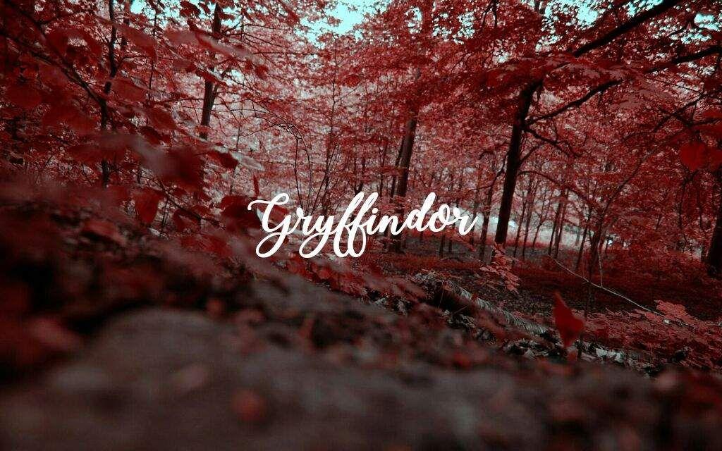 Gryffindor Chernobyl Hogwarts Houses Fall Background