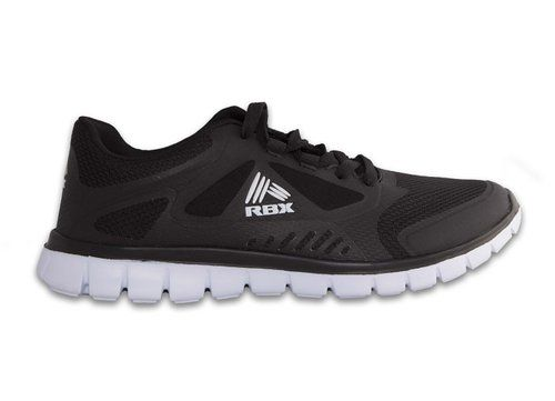67ee8f505cb RBX Men s Athletic Cross Training Running Lightweight Shoes Black White 9.5