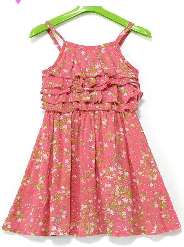 2014 nuevo diseño simple oem vestidos para niñas de 2-10 años de ...