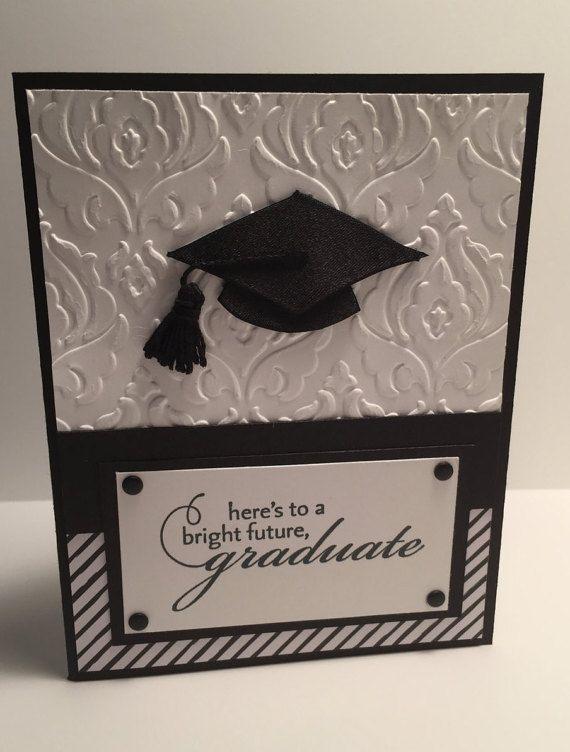 Cort tarjeta de graduación por BettysCardCreations en Etsy