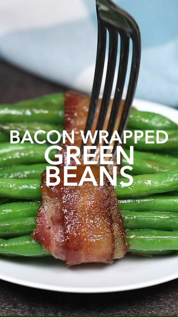 Bacon Wrapped Green Bean Bundles -   25 thanksgiving recipes side dishes videos ideas