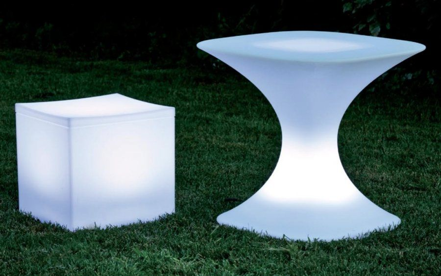 Twinkle lights and Tiki torches are so last year. Make your furniture the  light of