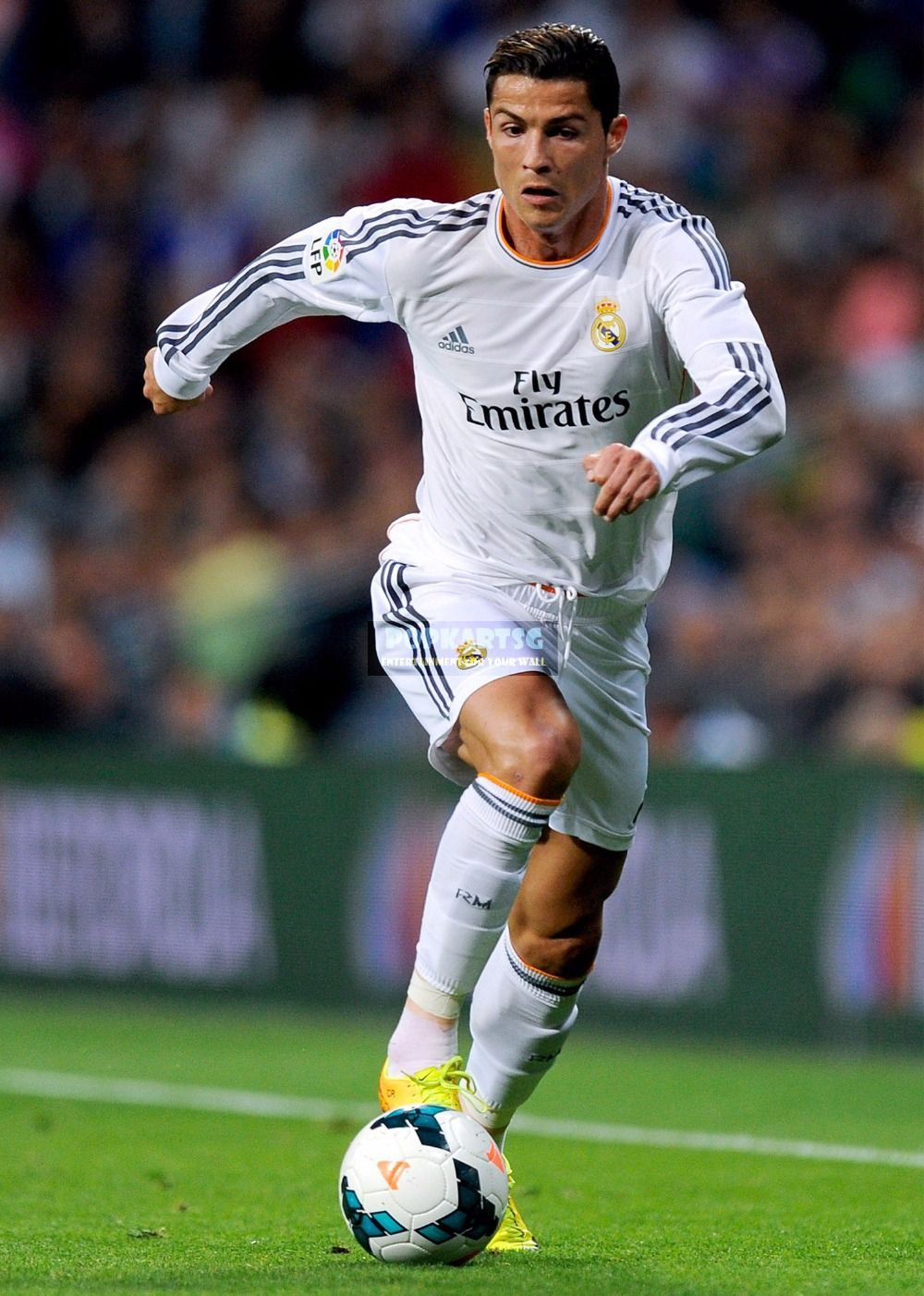 Wie wil nou niet zo sterk en goed worden als Cristiano ...