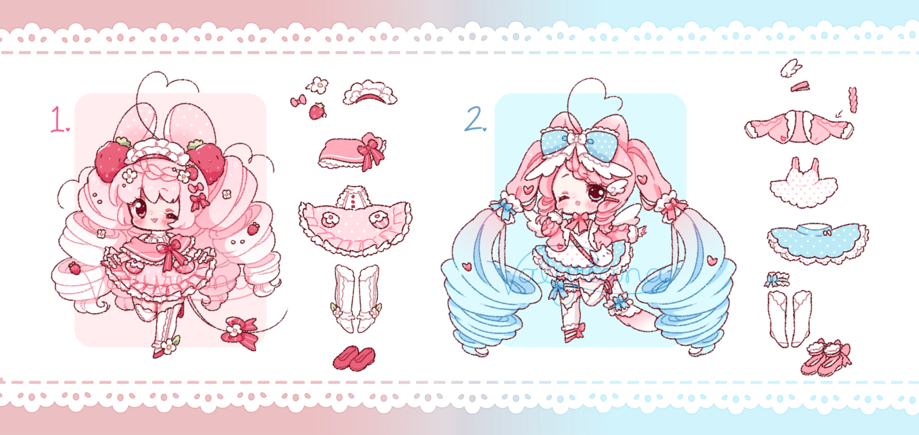 [CLOSED] Pastel Cuties by