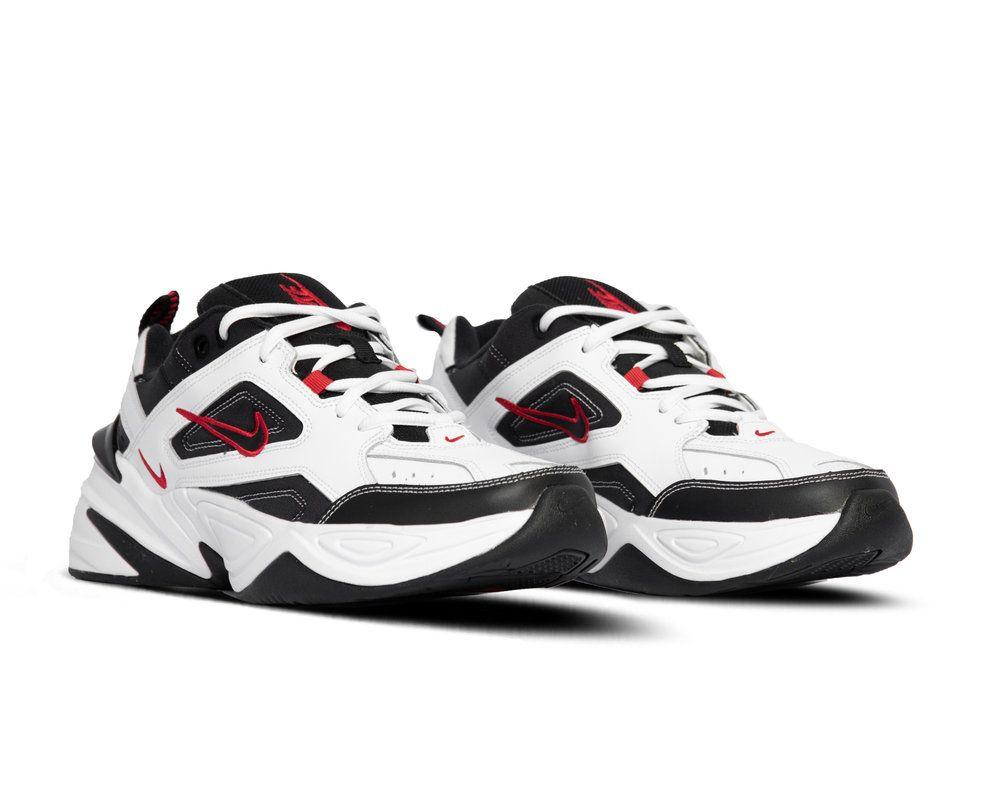 Bruut Nike M2k Tekno White Black University Red