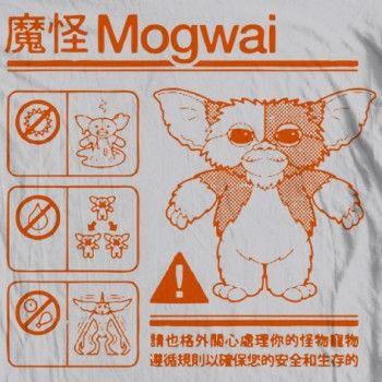 d01cdc99 Rad Shirt...Gremlins Mogwai Warning | Nerd Stuff | Gremlins, Shirts ...