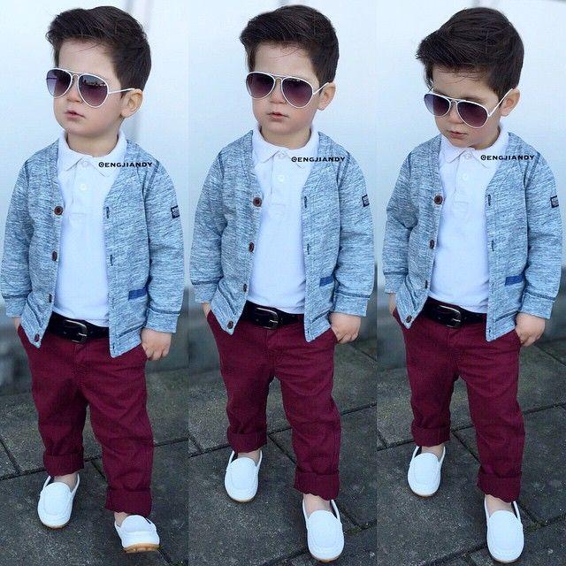 d07dfd720 Instagram photo by @engjiandy via ink361.com | stylish boyz | Kids ...