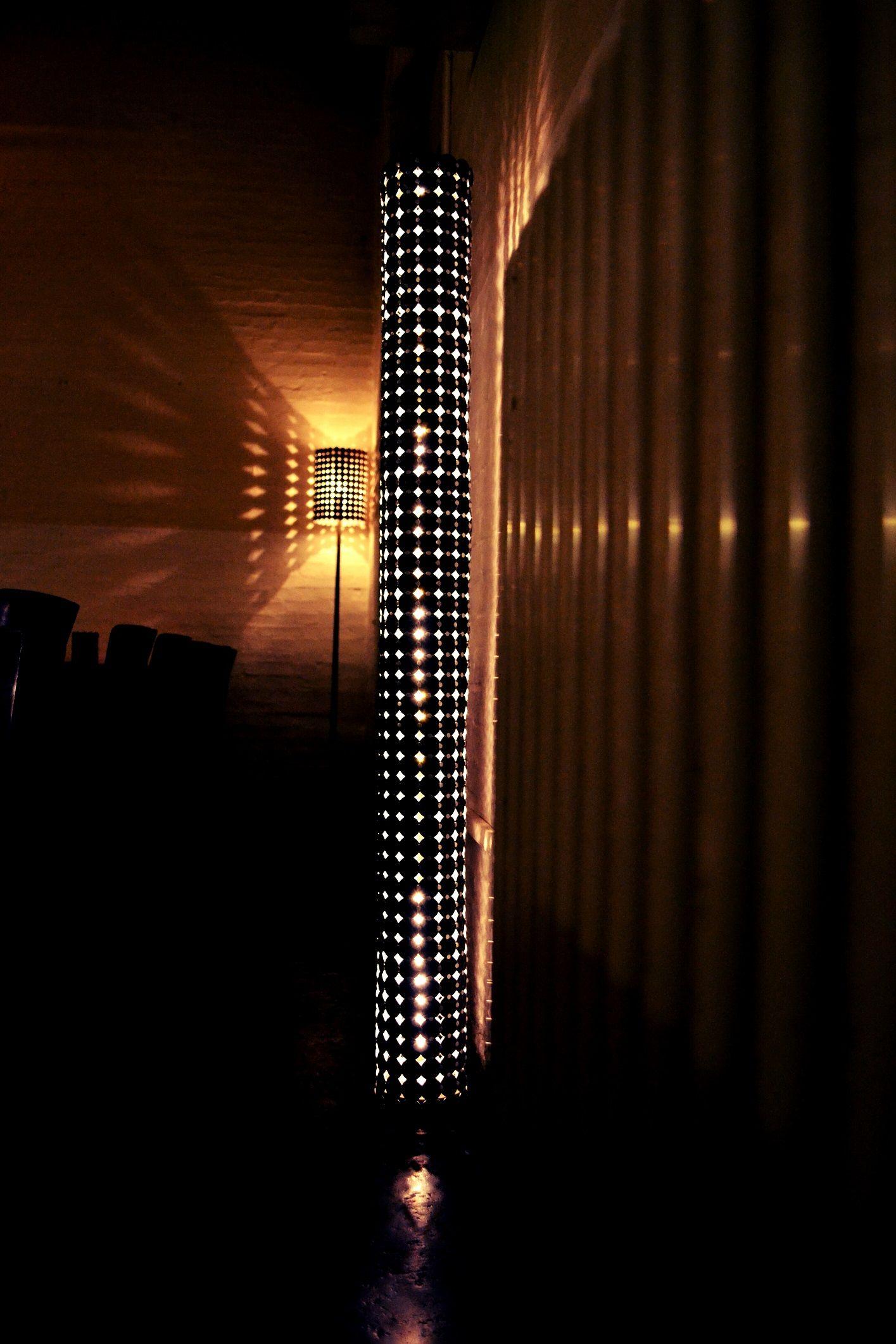Restaurant Lagerhaus Slimqueen 2mol Leuchten Nespressoart 800kapseln Bremsscheibe Candle Lanterns Lamp Light Art