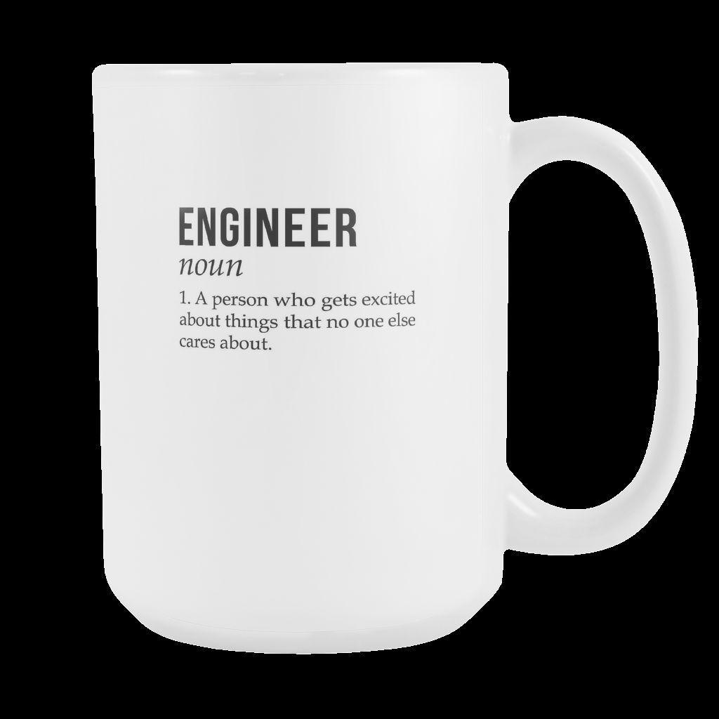 Engineer Noun Mug Is Perfect Gift For Any Coffee Or Tea Drinker His Birthday Christmas WITH THIS MUG YOU CAN MAKE YOUR Friends