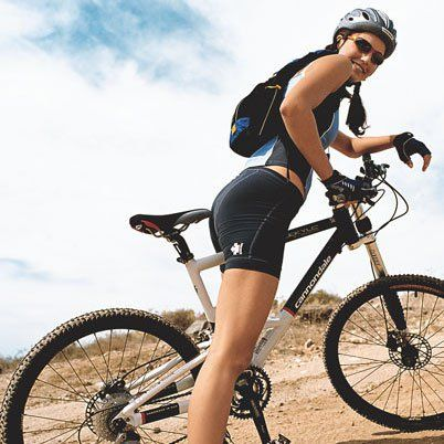 Bicycle Ride Enjoy The Mountains Mtb Cycling Weight Loss