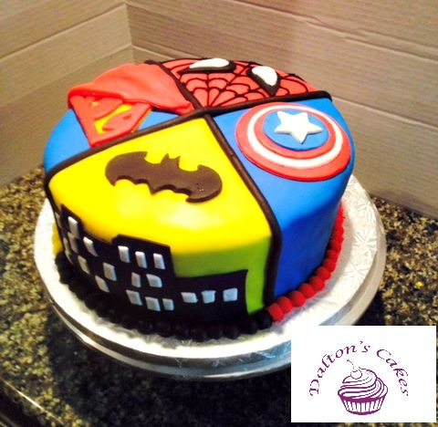 10 Awesome Birthday Cake Designs Superhero Birthday Cake Cake